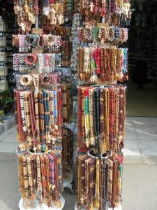 Rosary beads on sale at Medugorje